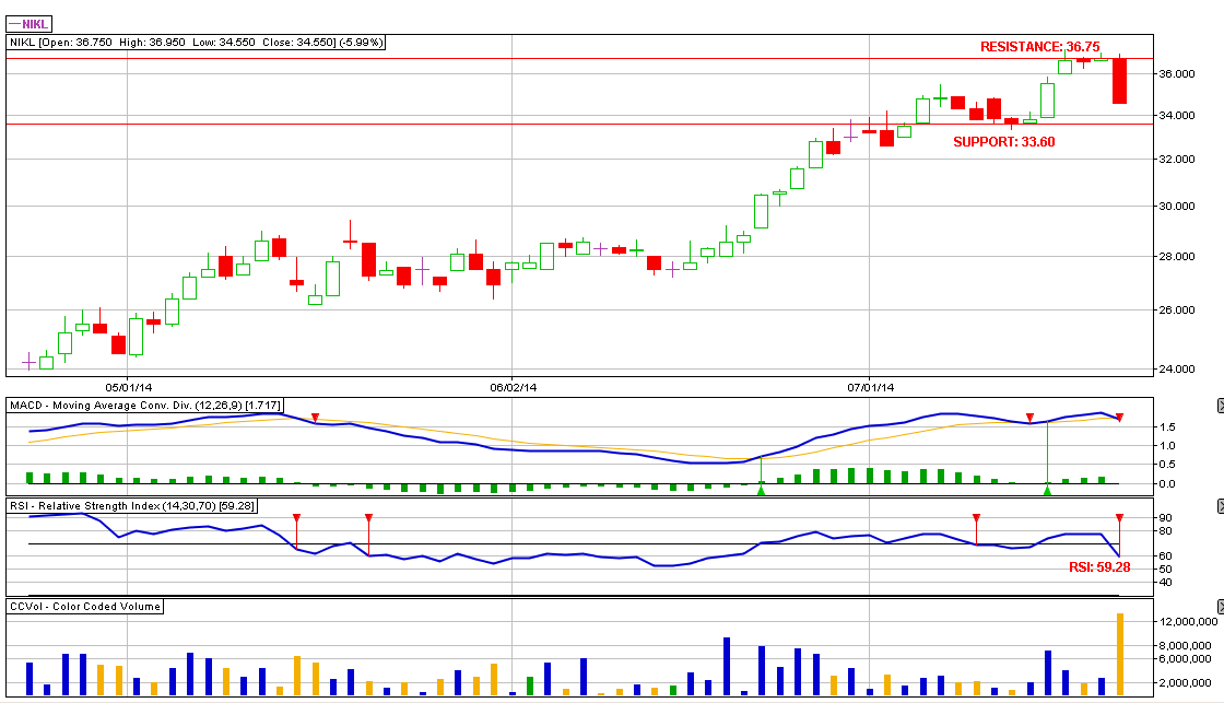NICKEL ASIA CORPORATION (NIKL): 07.22.2014 Performance Review