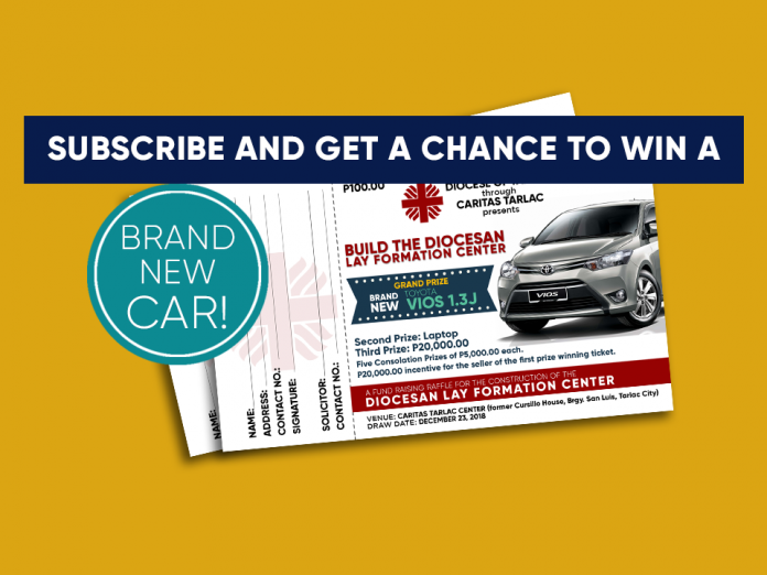 Subscribe and Get a Chance to Win a Brand-New Toyota Vios 1.3J_